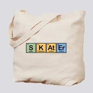 Skater made of Elements Tote Bag